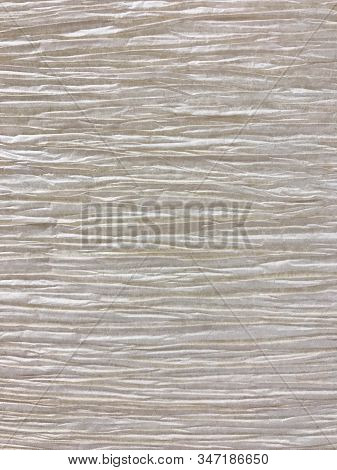 Pattern Of Wrinkle Mulberry Paper For Texture And Background
