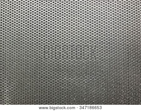 Pattern Of Metal Net Air Filter Texture And Background