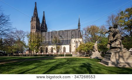 Church Of St. Peter And Paul At Vysehrad, Prague