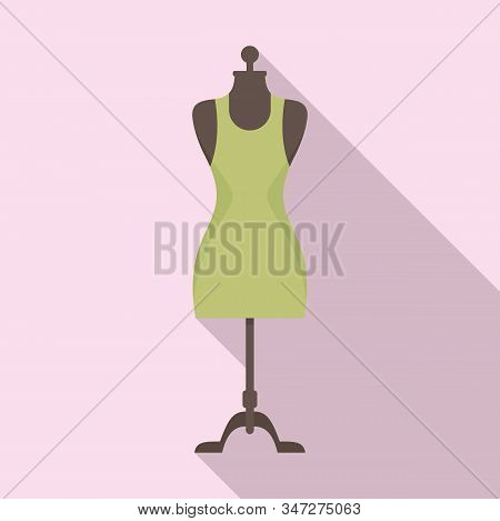 Beauty Mannequin Icon. Flat Illustration Of Beauty Mannequin Vector Icon For Web Design