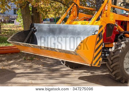 New Construction Tractor With Hydraulic Bucket Jaw For Backfill And Backfill Work