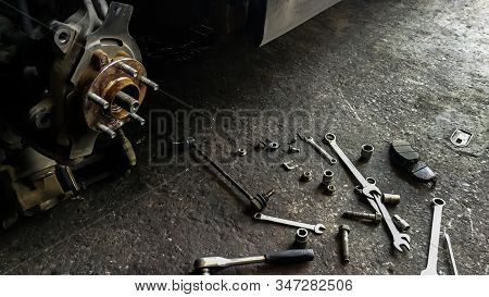 Auto Repair Shop, Machine Part, Metal, Propeller, Steel