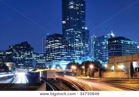 Buckhead ist der uptown Atlanta, Georgia, Usa.