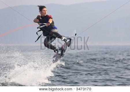 Wakeboarder Jump