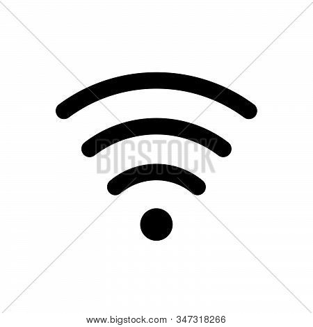 Wifi Icon Isolated On White Background. Wifi Icon In Trendy Design Style. Wifi Vector Icon Modern An