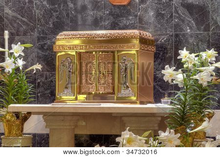 Catholic Church Tabernacle