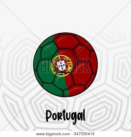 Ball Flag Portugal Vector Photo Free Trial Bigstock