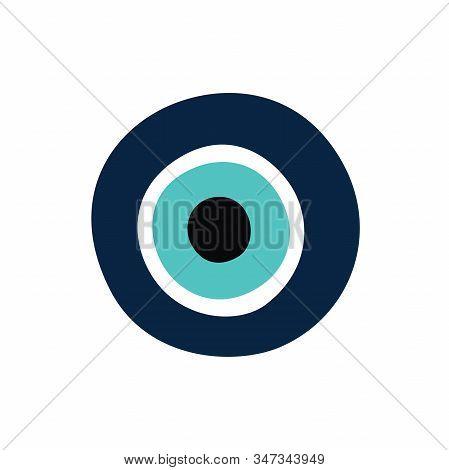 Greek Evil Eye, Symbol Of Protection. Vector Illustration.