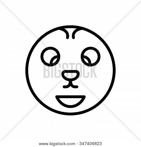 Black Line Icon For Offbeat Odd Strange Weird Unusual