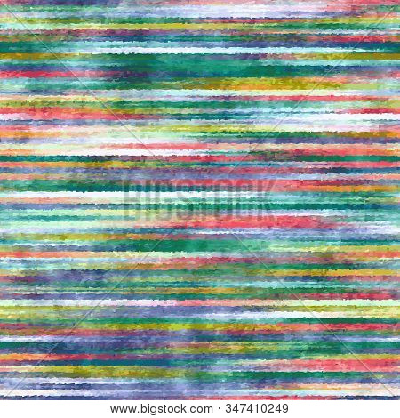 Mottled Distressed Noisy Rainbow Fade Tile Stripes