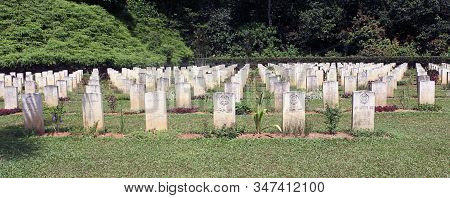Taiping, Perak, Malaysia - June 19,2020. The Taiping War Cemetery Is The Final Resting Place For All