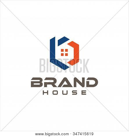 Letter B C Cb Bc Real Estate Logo Design Vector . Initial B C Cb Bc Home Logo Vector