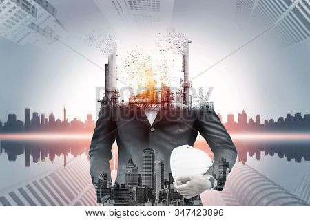 Danger Of Air Pollution From Conventional Power Industry Causes Problem To World Environment Such As