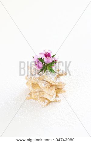 Butter Biscuits Isolated
