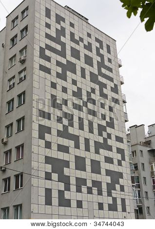 Building with a crossword puzzle