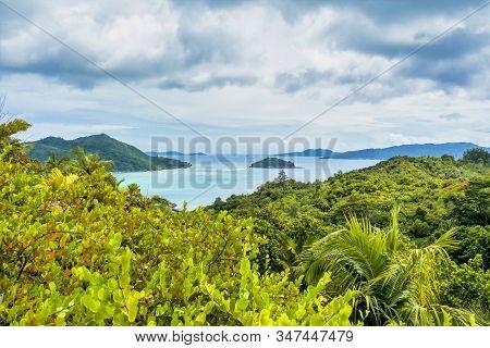 Fond Ferdinand Nature Reserve On Praslin Island, Seychelles