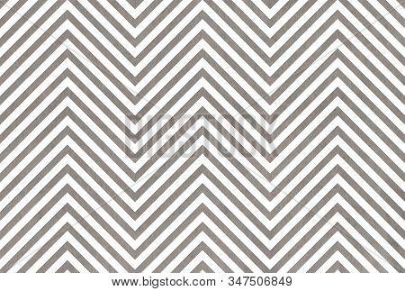Watercolor Gray Stripes Background, Chevron. Watercolor Geometric Pattern