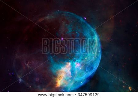 Beauty Of Endless Cosmos. Science Fiction Art. Elements Of This Image Furnished By Nasa.
