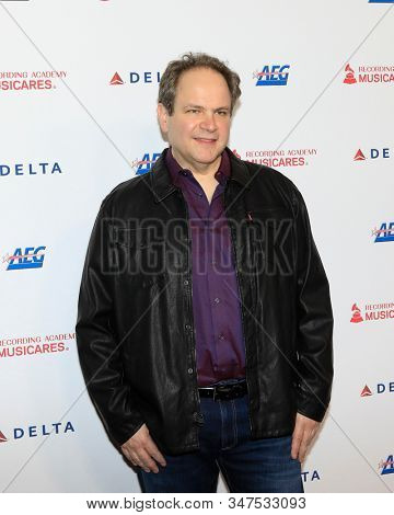 LOS ANGELES - JAN 24:  Eddie Trunk at the 2020 Muiscares at the Los Angeles Convention Center on January 24, 2020 in Los Angeles, CA