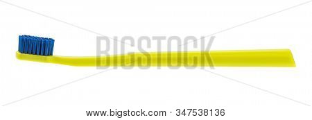Toothbrush isolated on white background, including clipping path