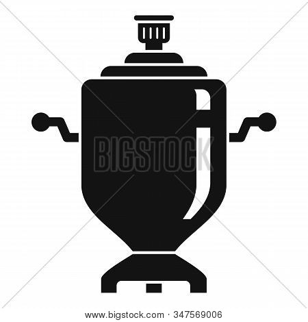 Culture Samovar Icon. Simple Illustration Of Culture Samovar Vector Icon For Web Design Isolated On