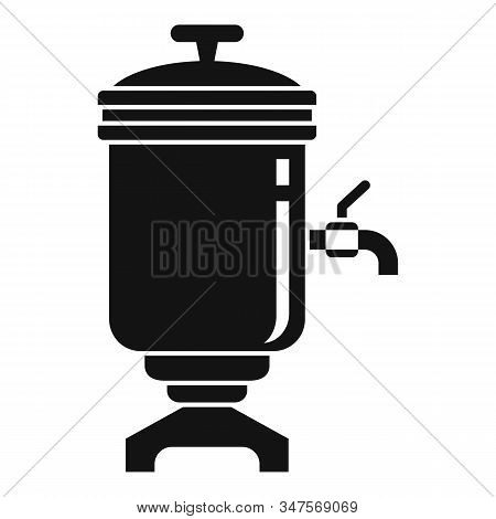 Drink Samovar Icon. Simple Illustration Of Drink Samovar Vector Icon For Web Design Isolated On Whit