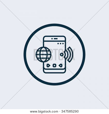 Wifi Icon Isolated On White Background From Sign Collection. Wifi Icon Trendy And Modern Wifi Symbol