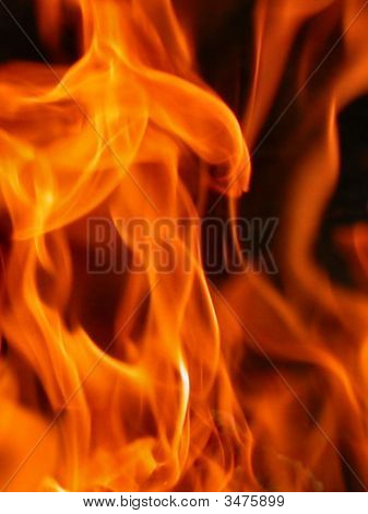 Fiery Background