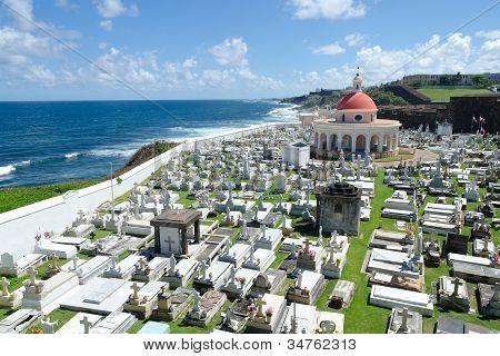 Cemetary in Old San Juan, Puerto Rico