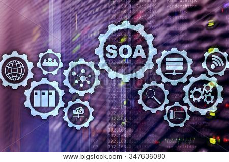 Soa. Business Model And Information Technology Concept For Service Oriented Architecture Under Princ