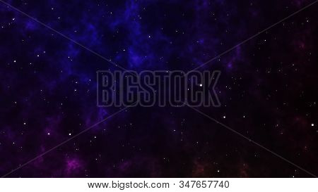 Abstract Background Traveling Through Star Fields In Space Supernova Light.motion Graphic Creation V