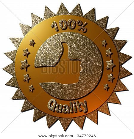 100% Quality (Gold)