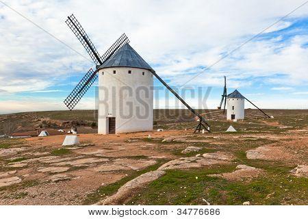 Old Spanish Windmills