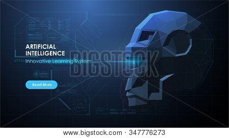 Artificial Intelligence Ai, Future Technology. Artificial Intelligence Or Neural Network Concept. Ai