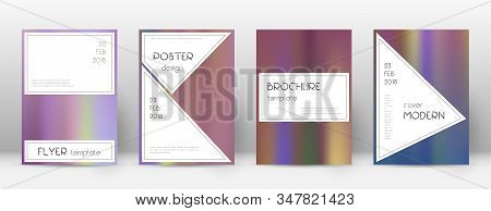 Flyer Layout. Stylish Magnetic Template For Brochure, Annual Report, Magazine, Poster, Corporate Pre