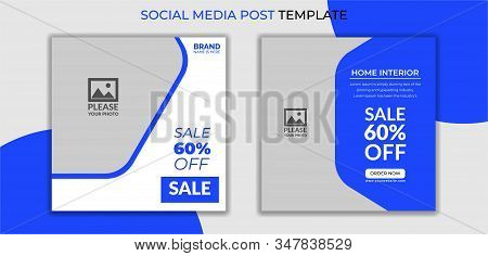 super sale social media post design templates, Summer Sale & Fashion Collection modern Social Media banner Template. Anyone can use This Easily. Promotional square web banner for social media. Elegant sale and discount promo. - Vector.