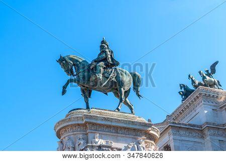 Monument Of Victor Emmanuel: Altare Della Patria, Monumento Nazionale A Vittorio Emanuele Ii, Vittor