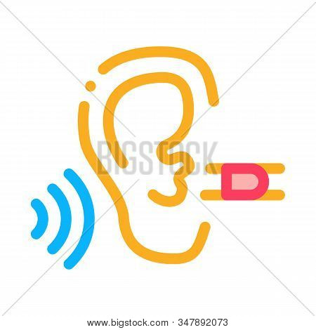 Perfect Hearing Icon Vector. Outline Perfect Hearing Sign. Isolated Contour Symbol Illustration