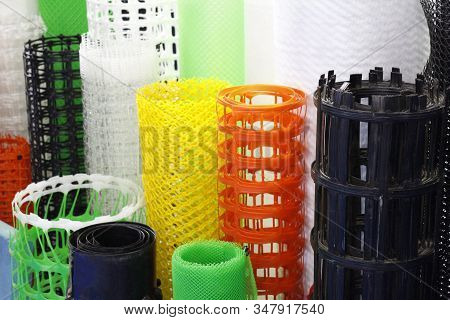 Garden Plastic Nets. Plastic Products. Manufacture Of Plastic Products. Polymer Plant For The Produc