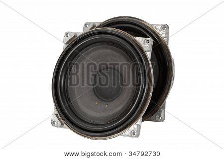 Big Speakers (isolated)