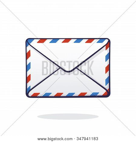 Mail, Envelope, Letter, Incoming, Message, Email, Closed, Unread, Post, Vector, Illustration, Hand D