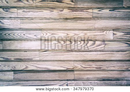 Wood boards texture. Natural wooden textured background.