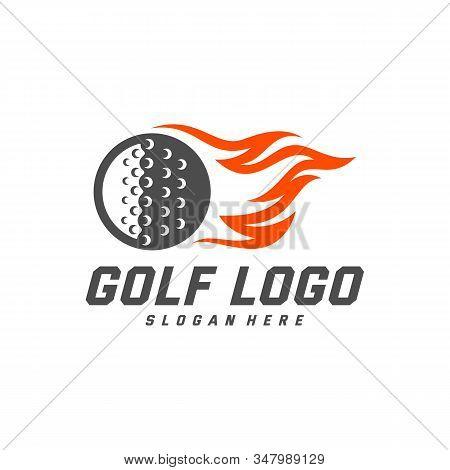 Golf Logo Design Vector Photo Free Trial Bigstock