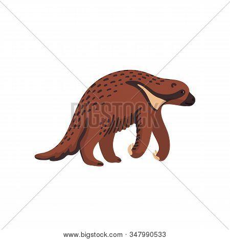 Extinct Animals. Megalonyx. Prehistoric Extinct North American Giant Ground Sloth, Jeffersons Sloth.