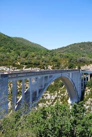 A Bridge Over A Ravine