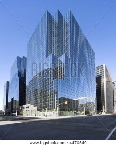 Modern Glass Office Complex