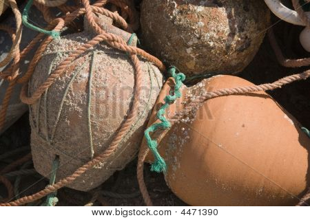 Terracotta Fishing Pots