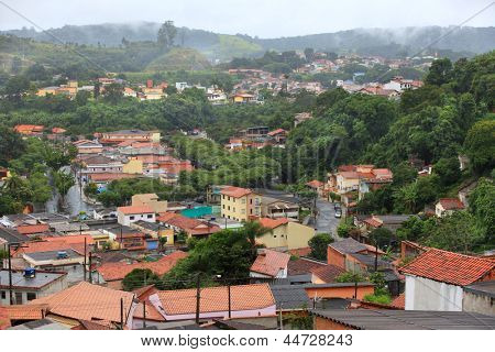 Mairinque city near Sao Roque in Brazil