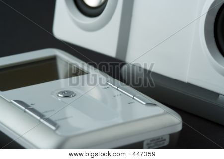 Media Player And Speakers