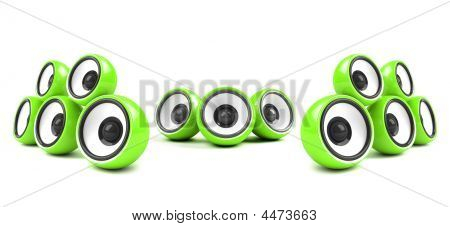 Green High-power Audio System